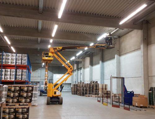 C.E. Noerpel GmbH – Umrüstung von 5 Speditions- und Logistikstandorten aus einer Hand